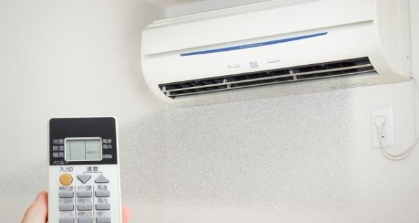 エアコンを利用した除湿