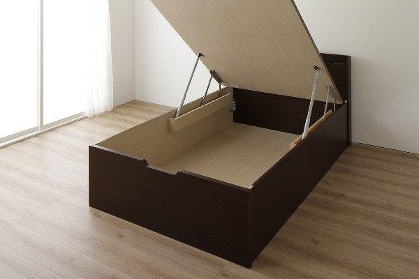 跳ね上げベッド構造