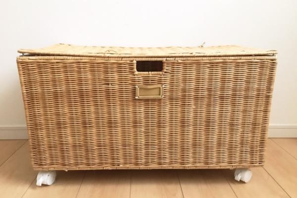 編み籠のケース