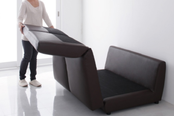 ソファベッド畳んだり敷いたり